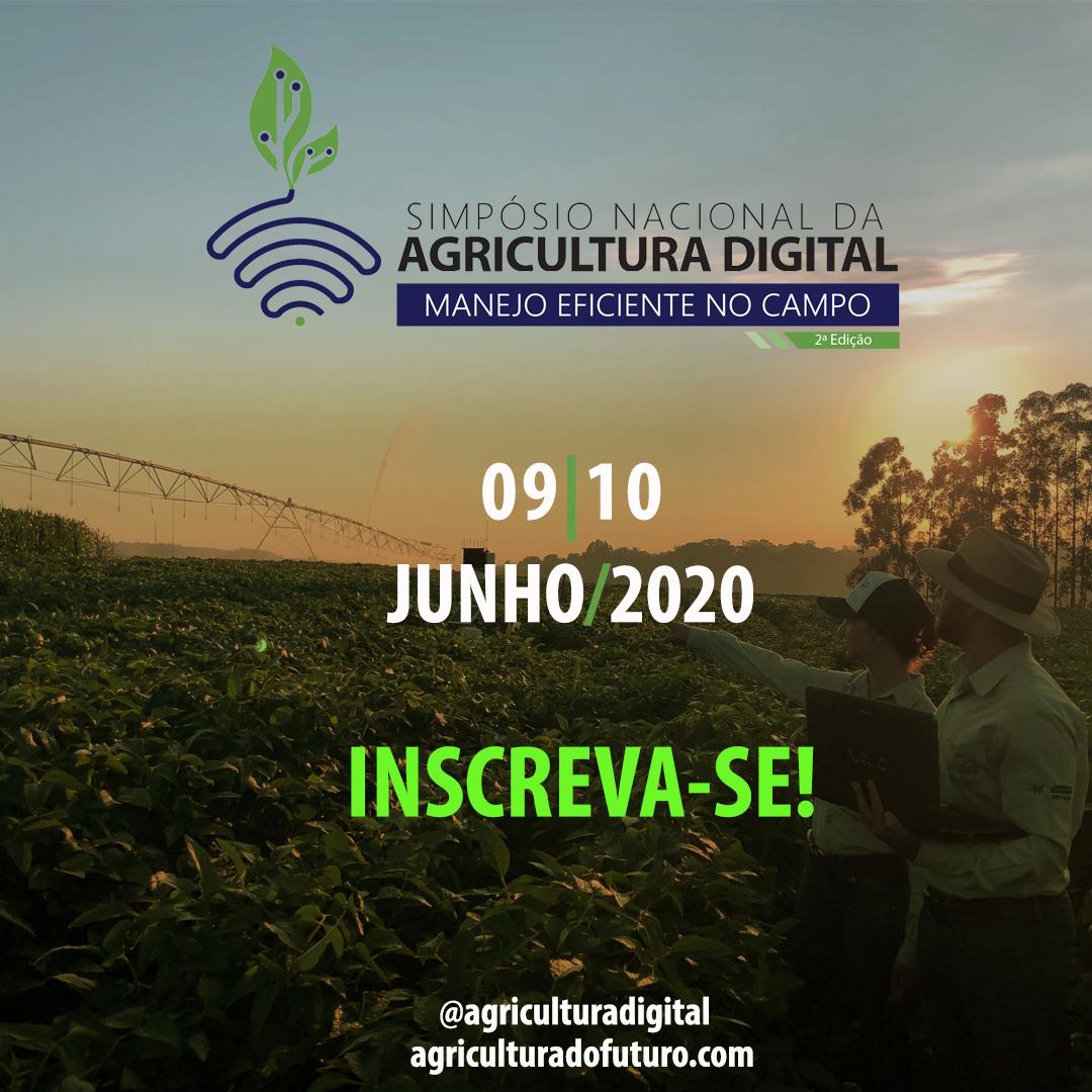 2º SIMPÓSIO NACIONAL DA AGRICULTURA DIGITAL: MANEJO EFICIENTE NO CAMPO